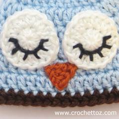 Crochet Tiny Triangle/ Beak
