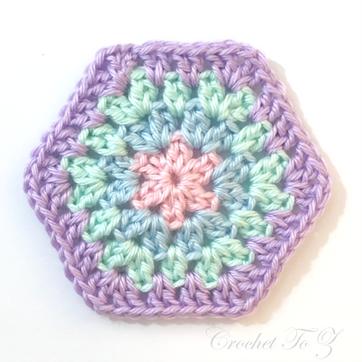 Granny Stitch Hexagon
