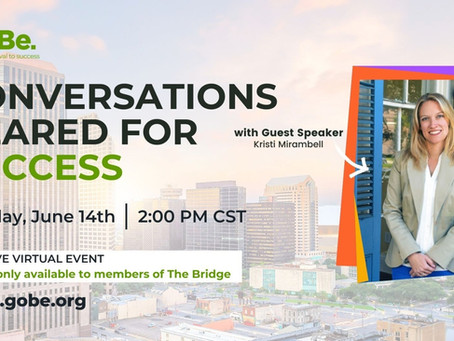 CONVERSATIONS GEARED FOR SUCCESS!