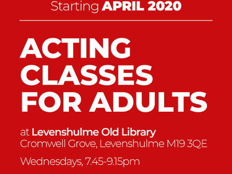NEW! Adult classes start April