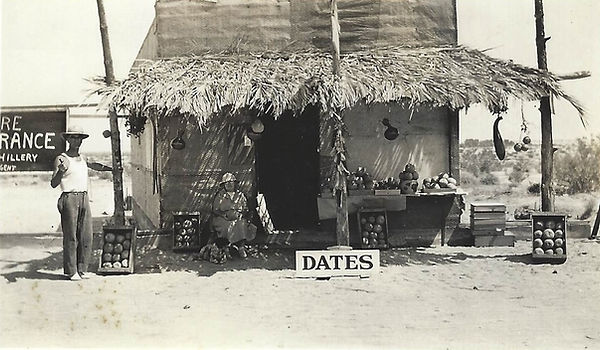 Roadside Produce Stand & Date Shack in early Cathedral City