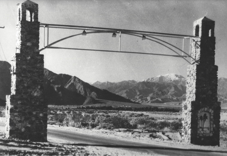 Cathedral City Arch