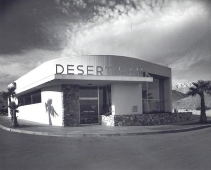 Desert Bank - Mid-Century Modern Architecture