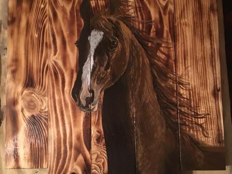 Barnwood Art Raffle
