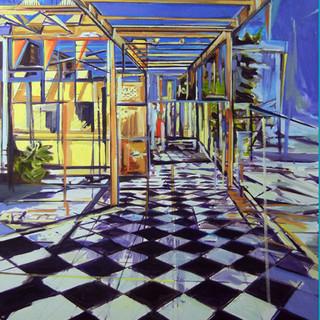 Checkered Floor,