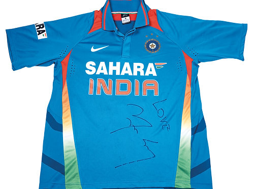 LOT 53 - Yuvraj Singh signed match issued jersey, 2010