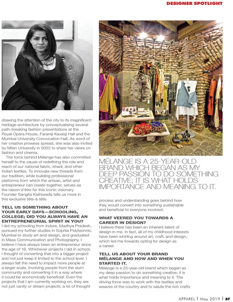 Apparel Magazine - 2