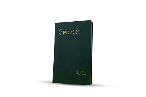 """18 - """"Cricket"""" - hand signed in ink by W.G.Grace, published 1891"""