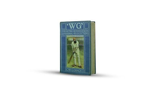 LOT 14 - Cricketing Reminiscences by WG Grace, published 1899