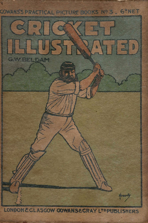 LOT 19 - Cricket Illustrated 1908