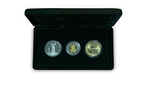 LOT 1 - Sir Donald Bradman Commemorative Coin Program