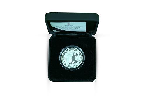 LOT 2 - Sachin Tendulkar Silver Coin minted by East India Company