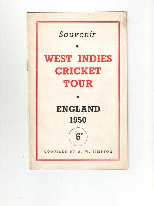 15 - West Indies Tour Souvenir 1950