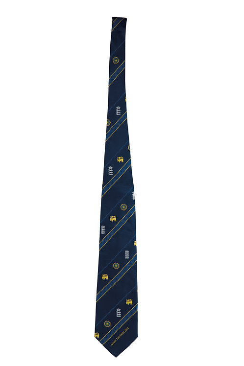 7 - National Team Ties a) The Official Tour Tie 1996 India/England/Pakistan
