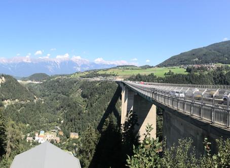 Bungee Jumping Europabrücke 192m