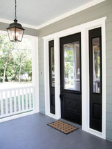 Beutiful Entry Double Side Light Door.
