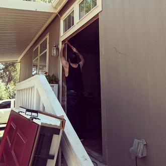 we have over  25 years installing doors.