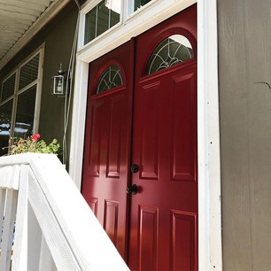 Let the pros take care of installing your double door.