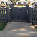 Gates and Fences, get the pros build your next wood fence and custom fit gate.