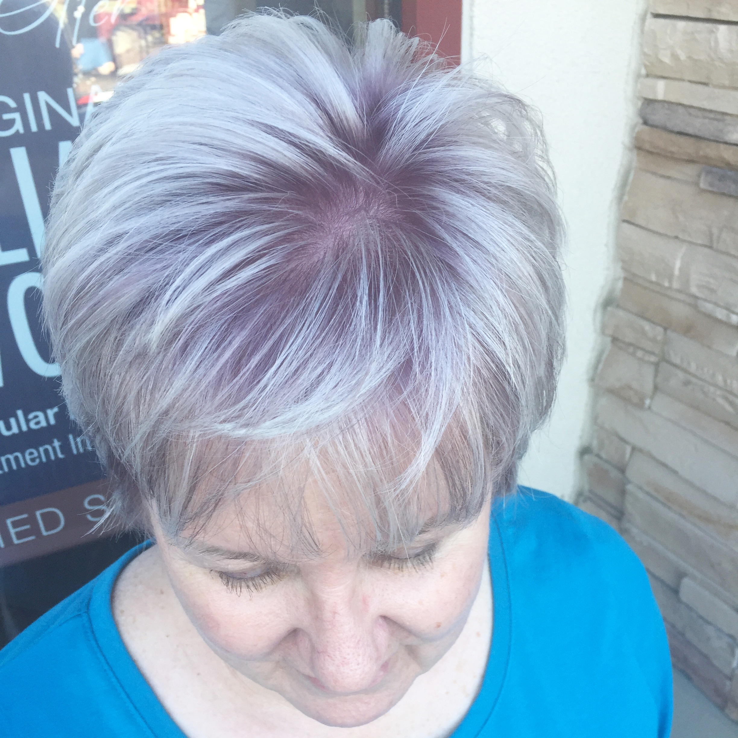 Lavender shadow root