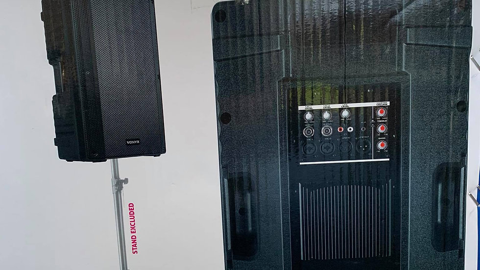 Sound system indoors