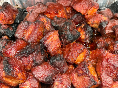 Crispy Pork Belly Burnt Ends | Meat Candy