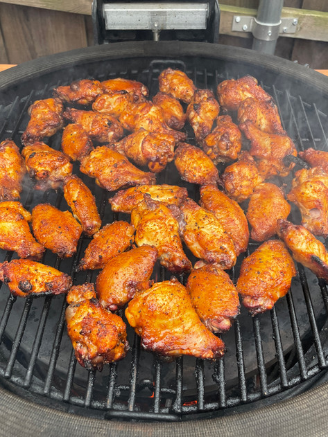 Pickle Brined Chicken Wings   Smoked Wings