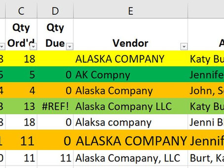 Why You Should Stop Using Excel to Keep Track of Shipments, Purchases, or Inventory