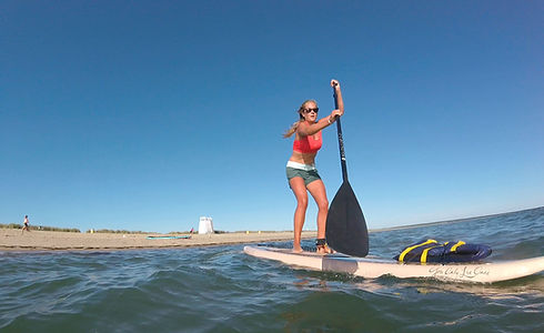 Edgartown Standup Paddler