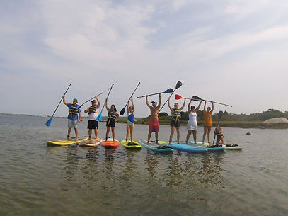 Standup paddling makes people happier with Aloha Paddle MV