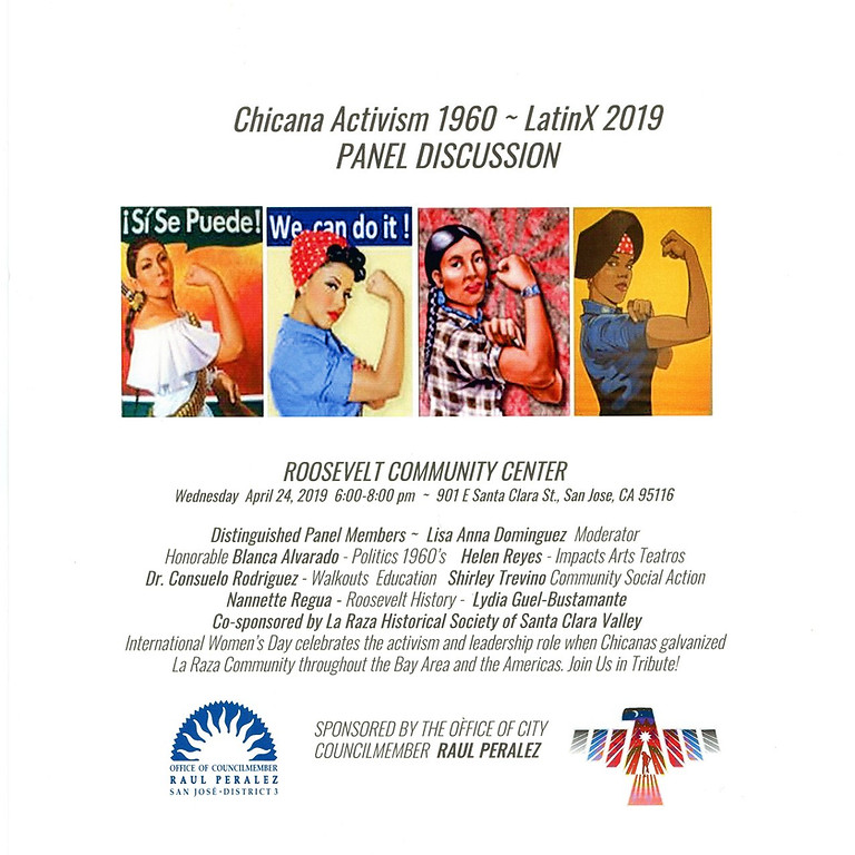 Chicana Activism 1960's - LatinX 2019 A Panel Discussion