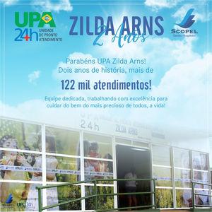 Upa Zilda Arns Comemora 2 Anos