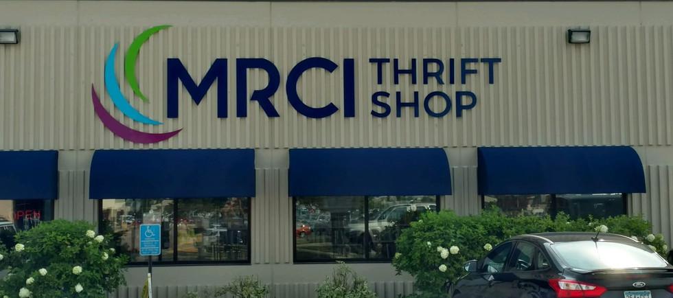 MRCI Acrylic Letters and Logo