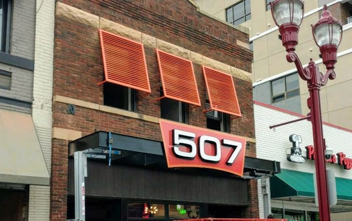 The 507 - Front Face Illuminated Channel Letters.