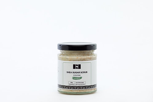 Shea Sugar Scrub - Lemongrass