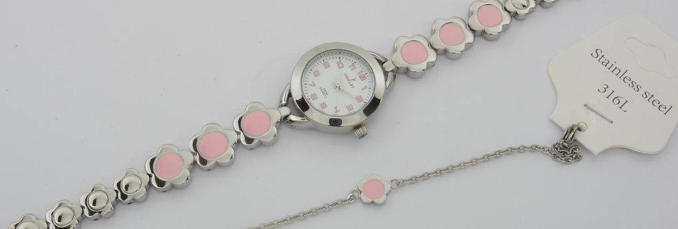 NOME59-2834 Reloj nowley niña comunión con pulsera a juego