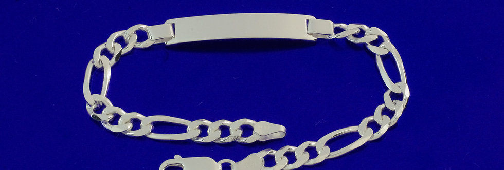 PPNOALT46-912 Nomeolvides plata de 6 mm de ancho macizo