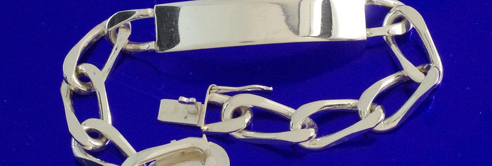 PPNOBIL46-0301 Nomeolvides plata de 10 mm de ancho macizo