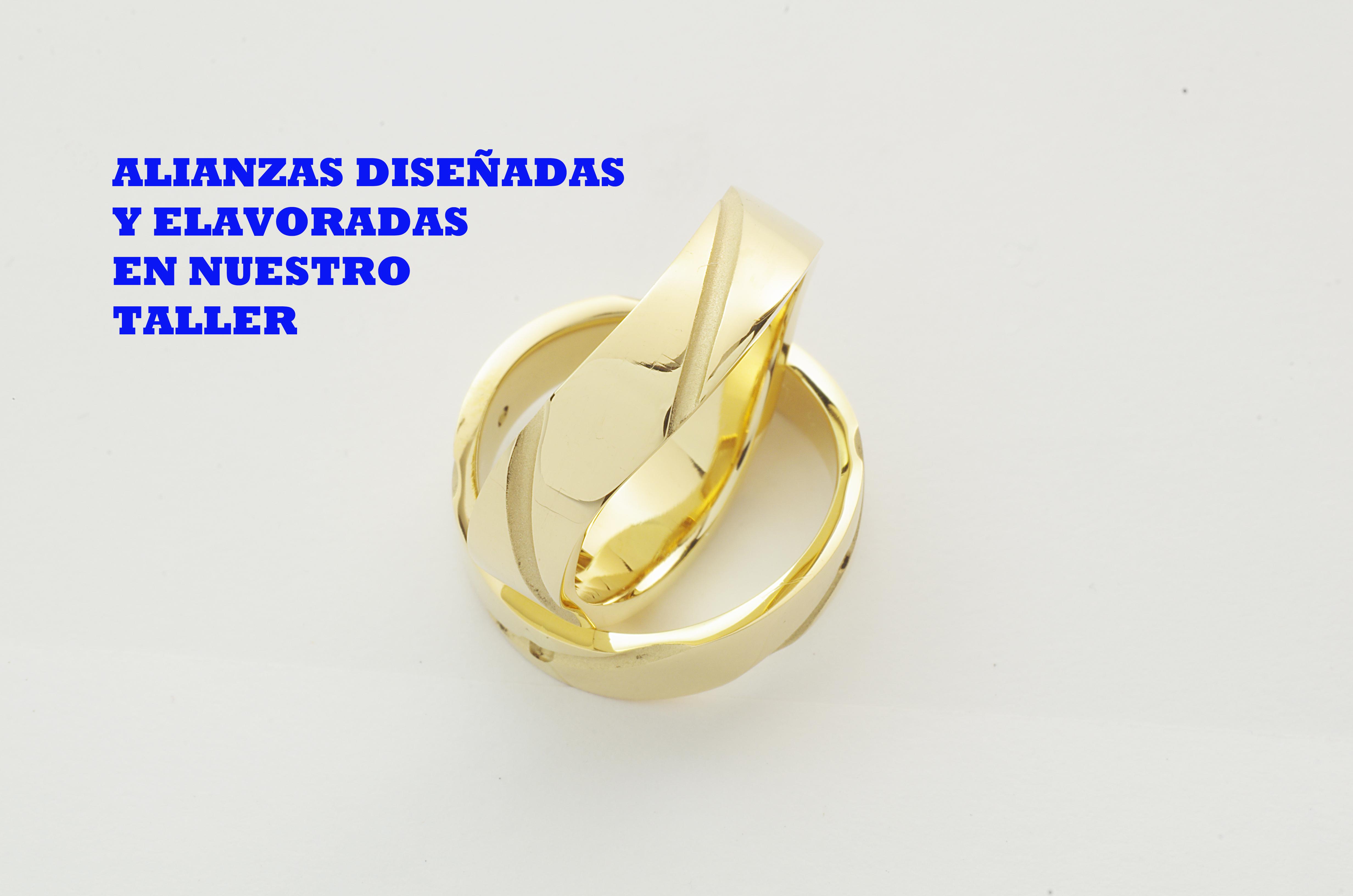 ALIANZAS ORO CURVADAS