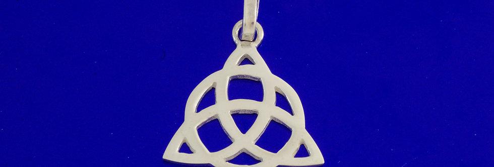 PPCOTRI25-886  (11) Colgante plata trinqueta celta 22 mm