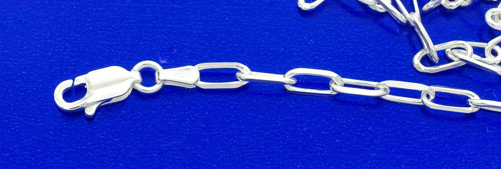 P60FALP2462 Cadena plata 3,2 mm x 60 cms
