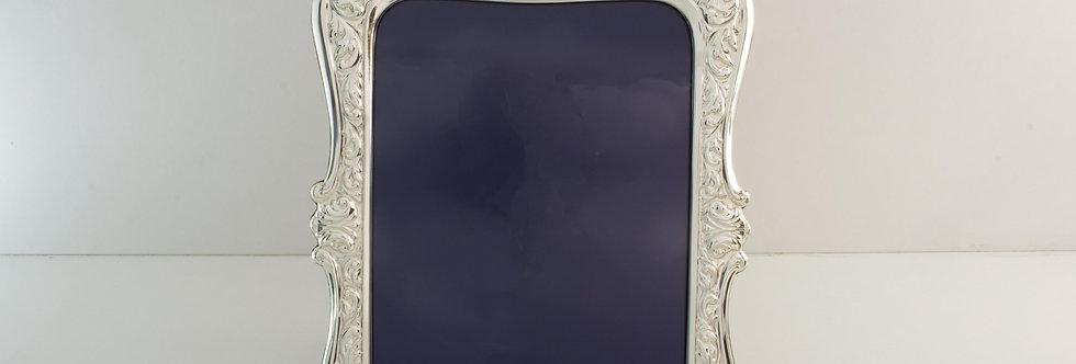 MARC-MMXX822 Marco de alpaca plateada para foto de 13 x 18 cms