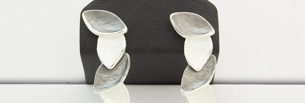 MPPELIS2-1069-2 Pendientes metal plateado