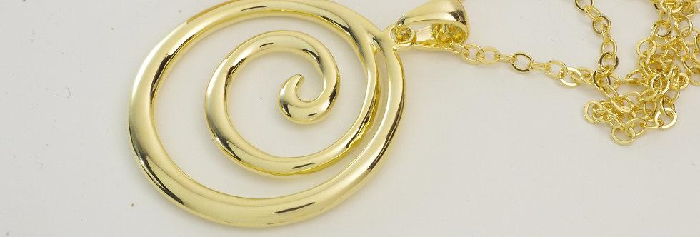 MDGALIS5-363 Collar metal dorado