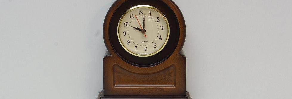 Ref: VRXX113 Reloj sobremesa en madera prensada  21 x 17 cms