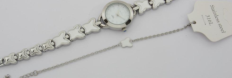NOME59-2832 Reloj nowley niña comunión con pulsera a juego