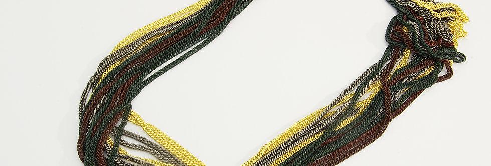 MDGALIS5-626 Collar metal multicolor