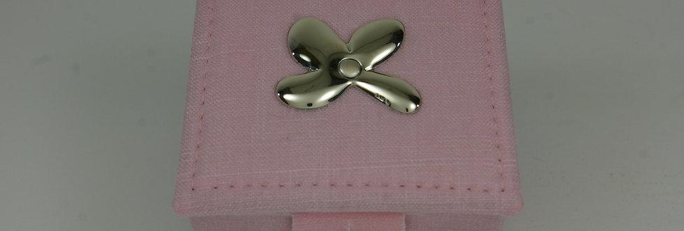 JOYE-PRXX0177 Caja joyero forrada en tejano y plata