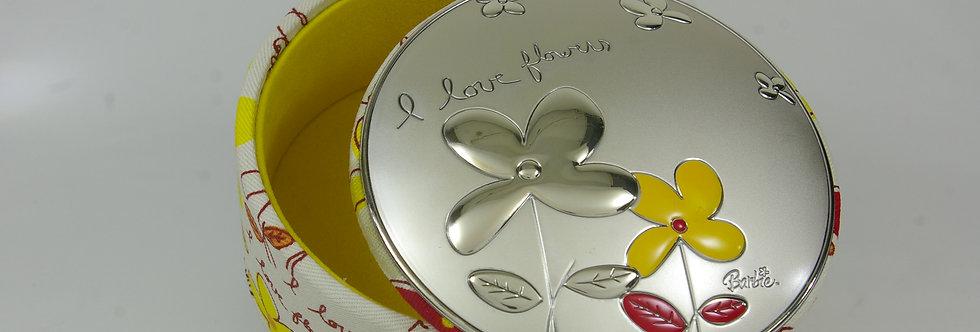 CAJA-PRXX0199 Caja joyero forrada en tejano con tapa de plata
