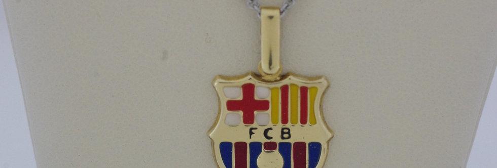 FCB-OCCE0069 Colgante oro de 18 qts F.C.B 16 x 15 mm